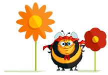 Honingrijke plantensoorten zaaien en planten zorgt voor stuifmeel en nectar voor de bestuivers