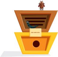 Plaats een insectenhotel